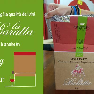 bag in box  La Baratta